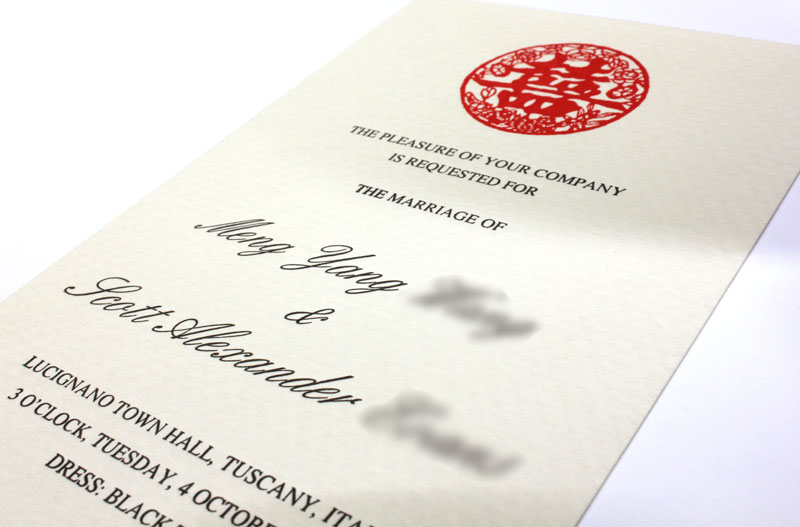 Letterpress Printing Wedding Invitations: Invitations>Wedding Invitations